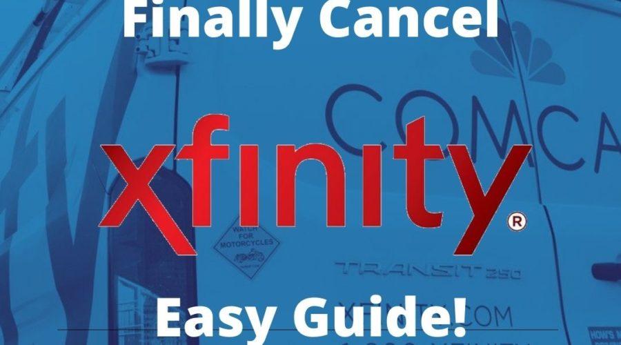 Cancel Xfinity Guide Banner